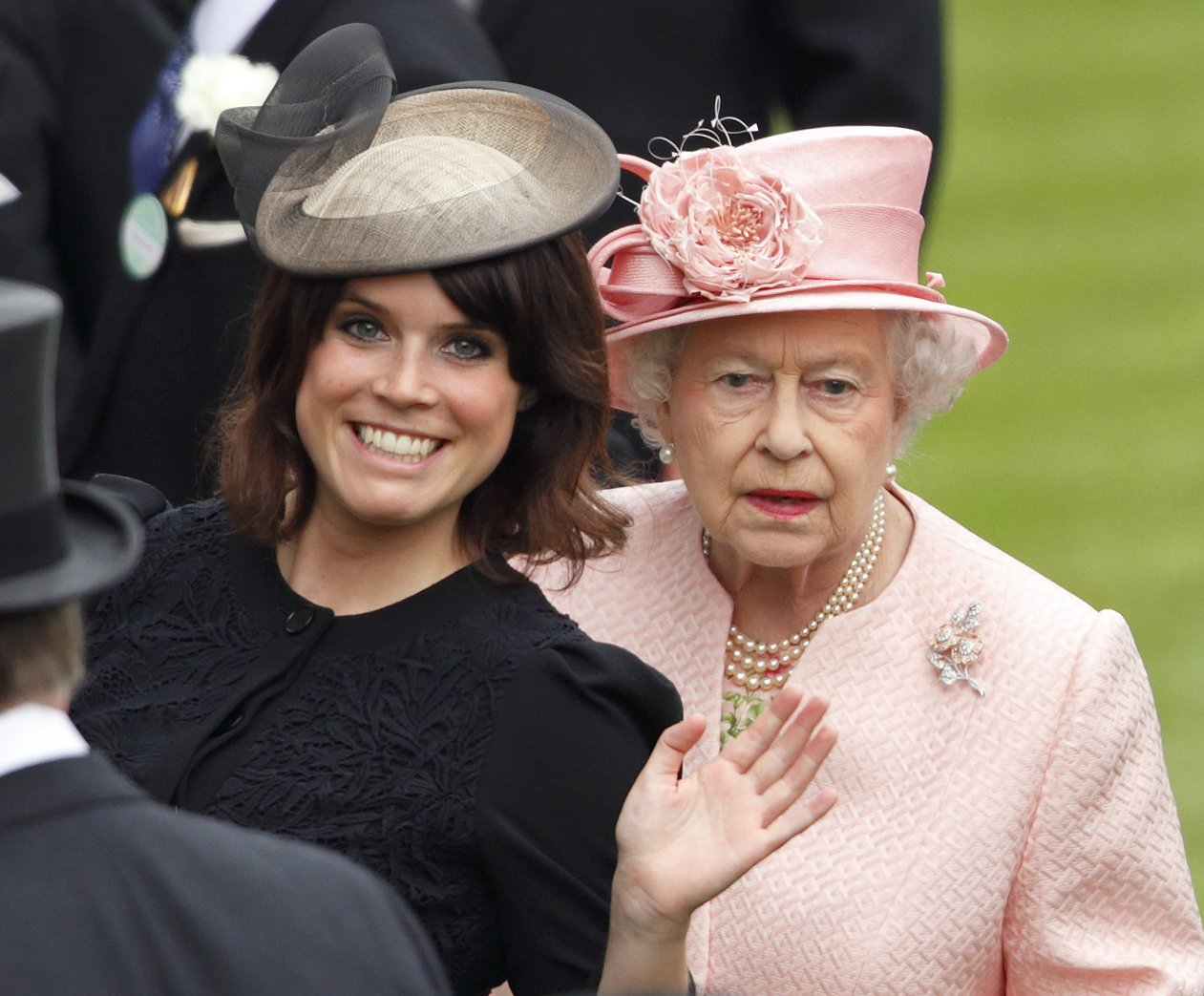Princess Eugenie of York and Queen Elizabeth II attend Royal Ascot on June 18, 2013, in Ascot, England. | Source: Getty Images.