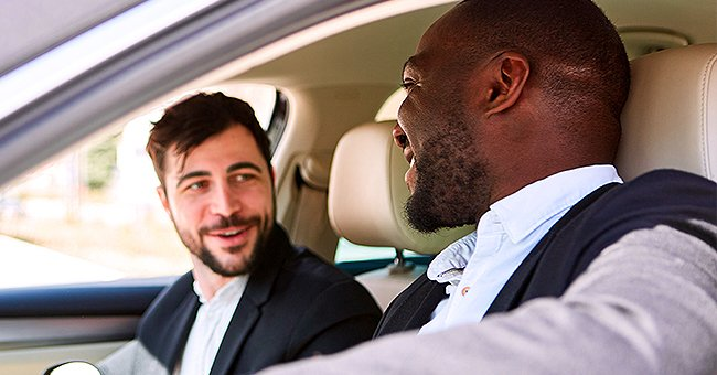 Daily Joke: Two Men Were Driving to the Grocery Store