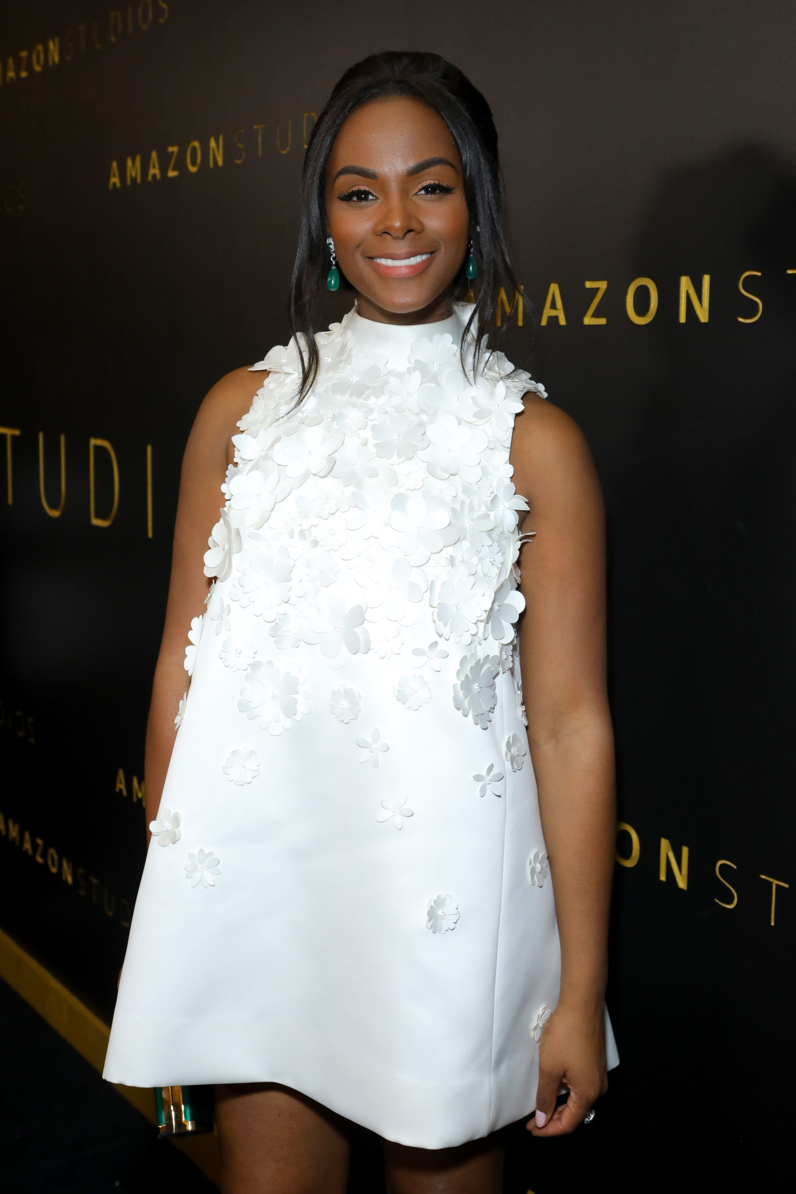 Tika Sumpter at the Amazon Studios Golden Globes After Party on January 5, 2020 in California. | Source: Getty Images
