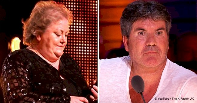 Farmer, 53, stunned audience with performance of Robbie Williams' song on 'The X Factor'