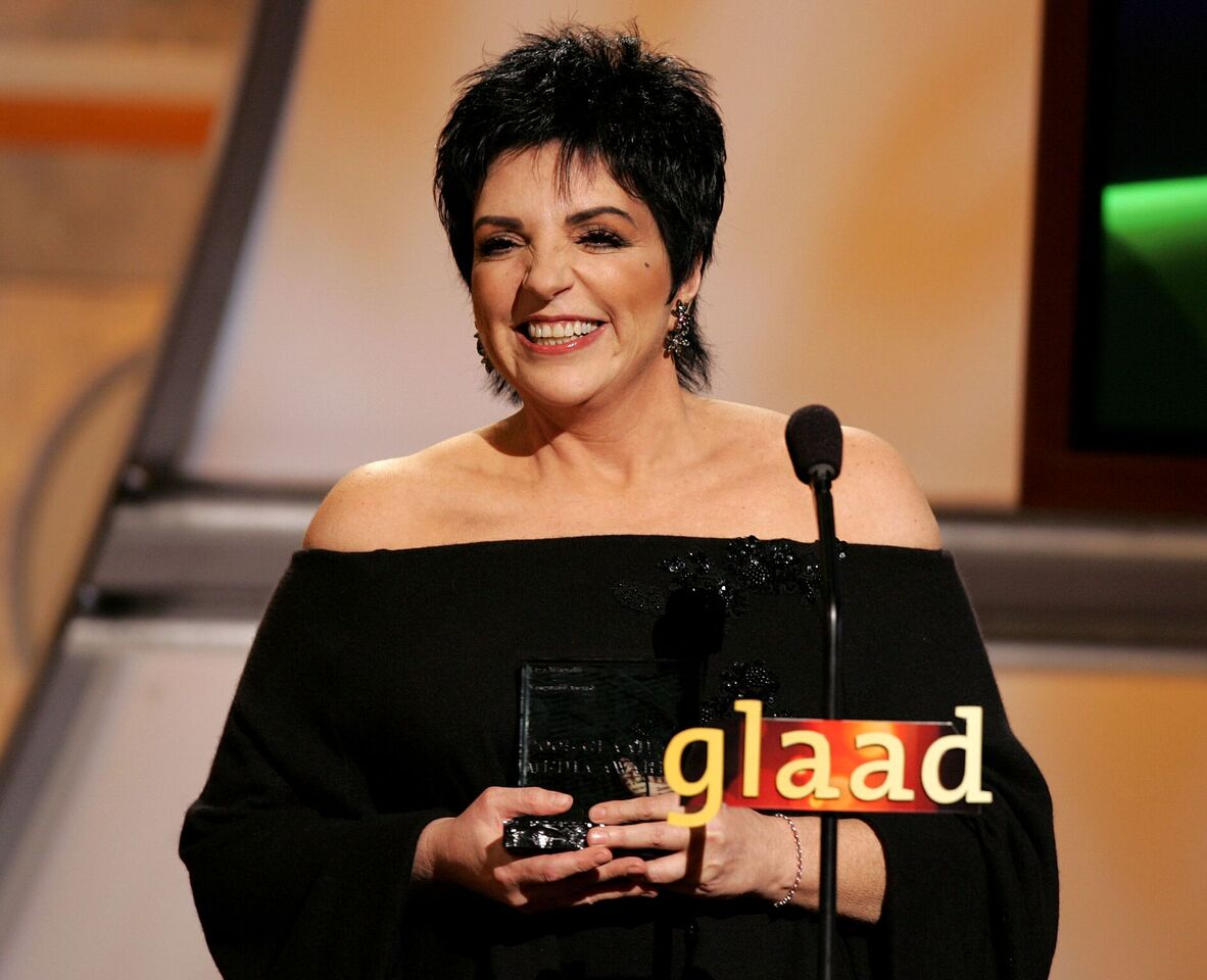 Liza Minnelli onstage during the 16th Annual GLAAD Media Awards. | Source: Getty Images