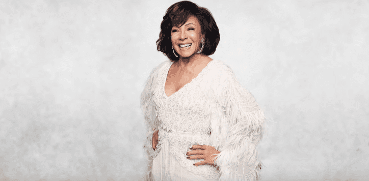 "Dame Shirley Bassey in the trailer video of her song, ""Owe It All To You."" 