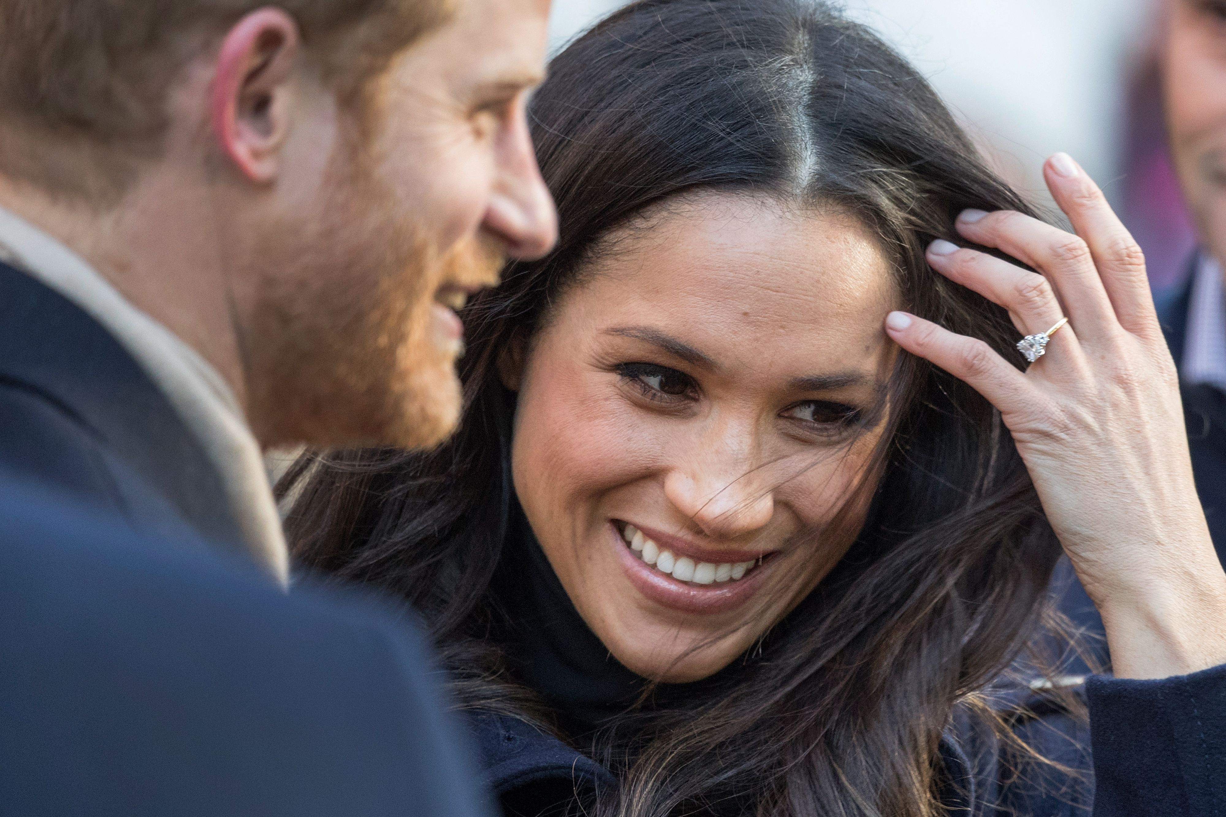 Prince Harry and Meghan Markle at the Terrance Higgins Trust World AIDS Day charity fair at Nottingham Contemporary on December 1, 2017 in Nottingham, England. | Source: Getty Images