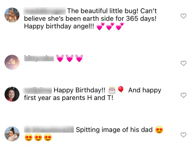 Fans' comments under Henry Wolfe's post of his daughter, Ida. | Photo: Instagram/@Henrywolfe