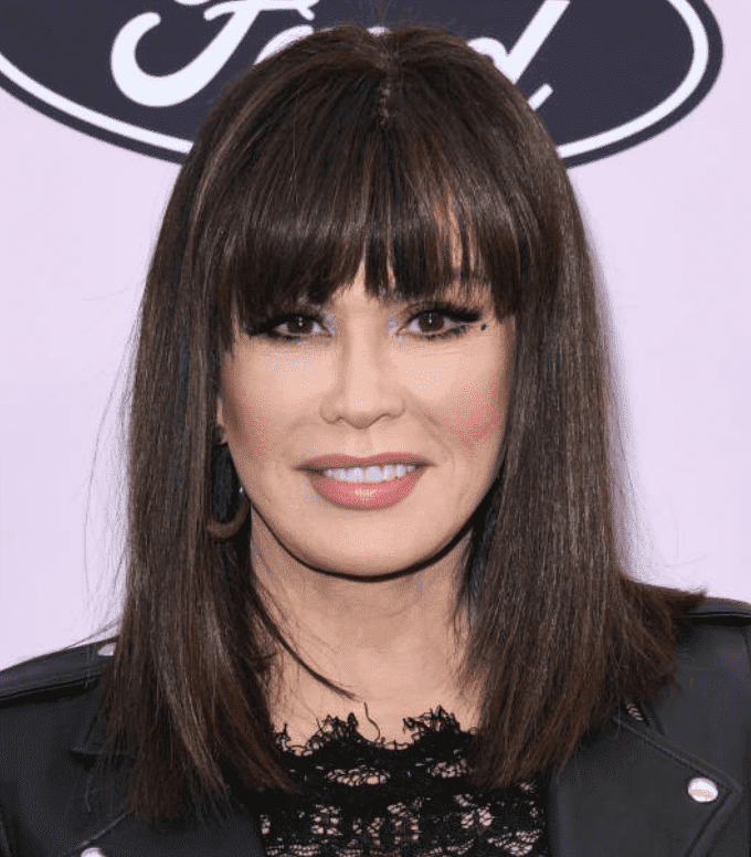 Marie Osmond arrives on the black carpet at 13th Annual Essence Black Women In Hollywood Awards Luncheon on February 06, 2020 in Beverly Hills, California | Source: Getty Images (Photo by Jon Kopaloff/FilmMagic)