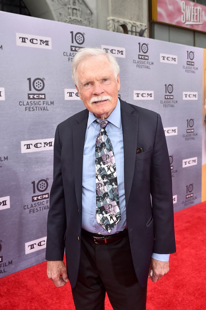 Ted Turner qui a partagé la vie de Jane Fonda. l Source : Getty Images