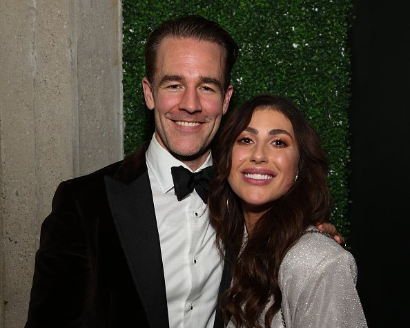 Actor James Van Der Beek (L) and Dancer / TV Personality Emma Slater (R) attend the Birthday Celebration for Keo Motsepe on November 30, 2019 in Los Angeles, California | Photo: Getty Images