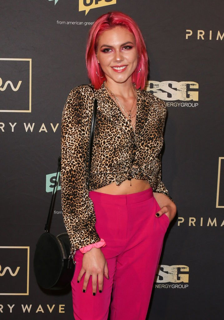 Recording Artist Caly Bevier at the Primary Wave 13th Annual Pre-GRAMMY bash at The London West Hollywood on February 09, 2019 | Photo: Getty Images