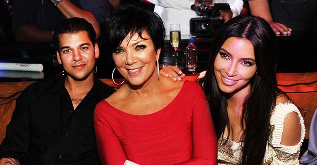 Kim Kardashian & Kris Jenner Share Throwback Photos with Rob in Honor of His 33rd Birthday