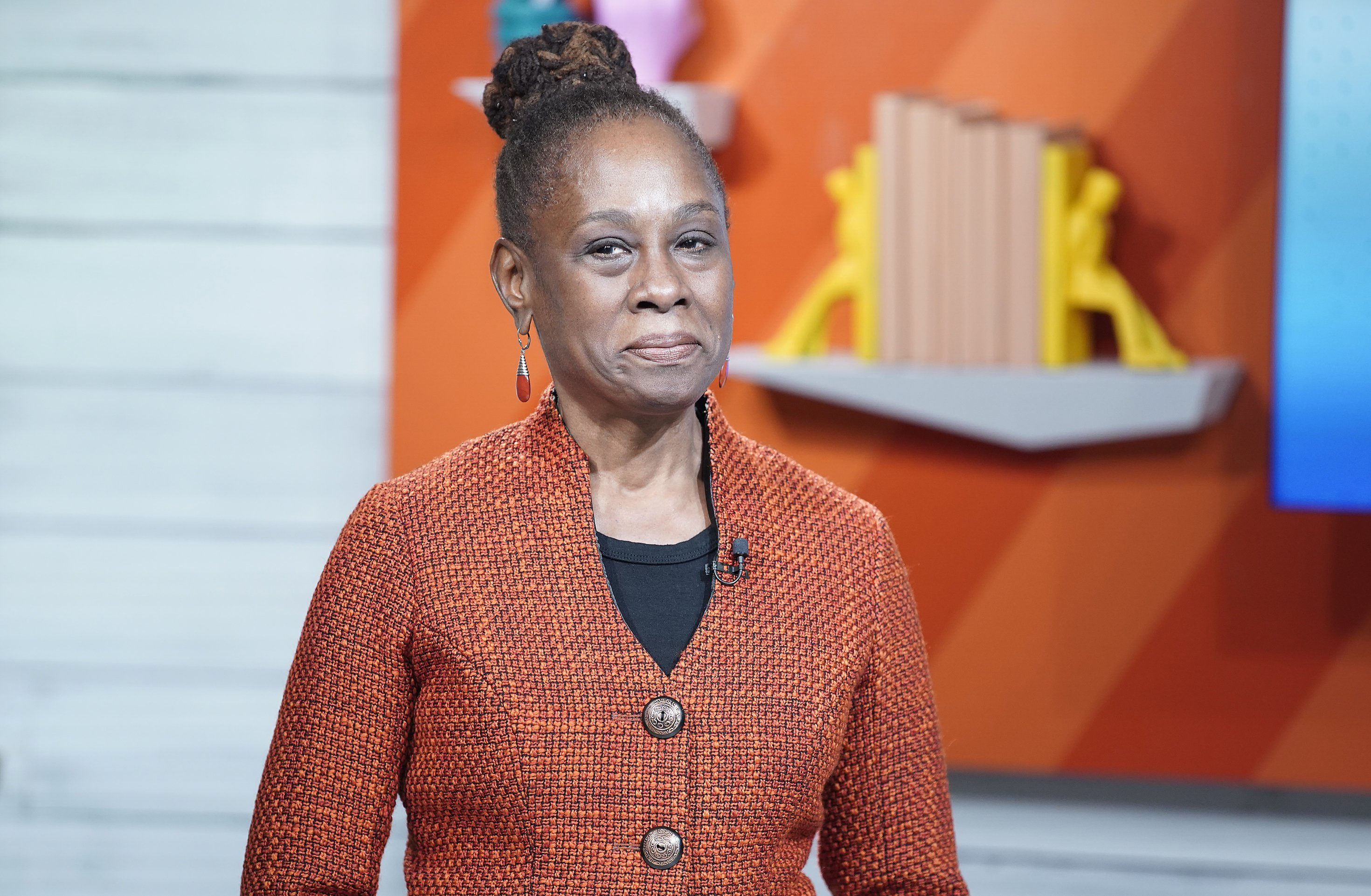 "Chirlane McCray visits BuzzFeed's ""AM To DM"" on March 03, 2020 in New York City 