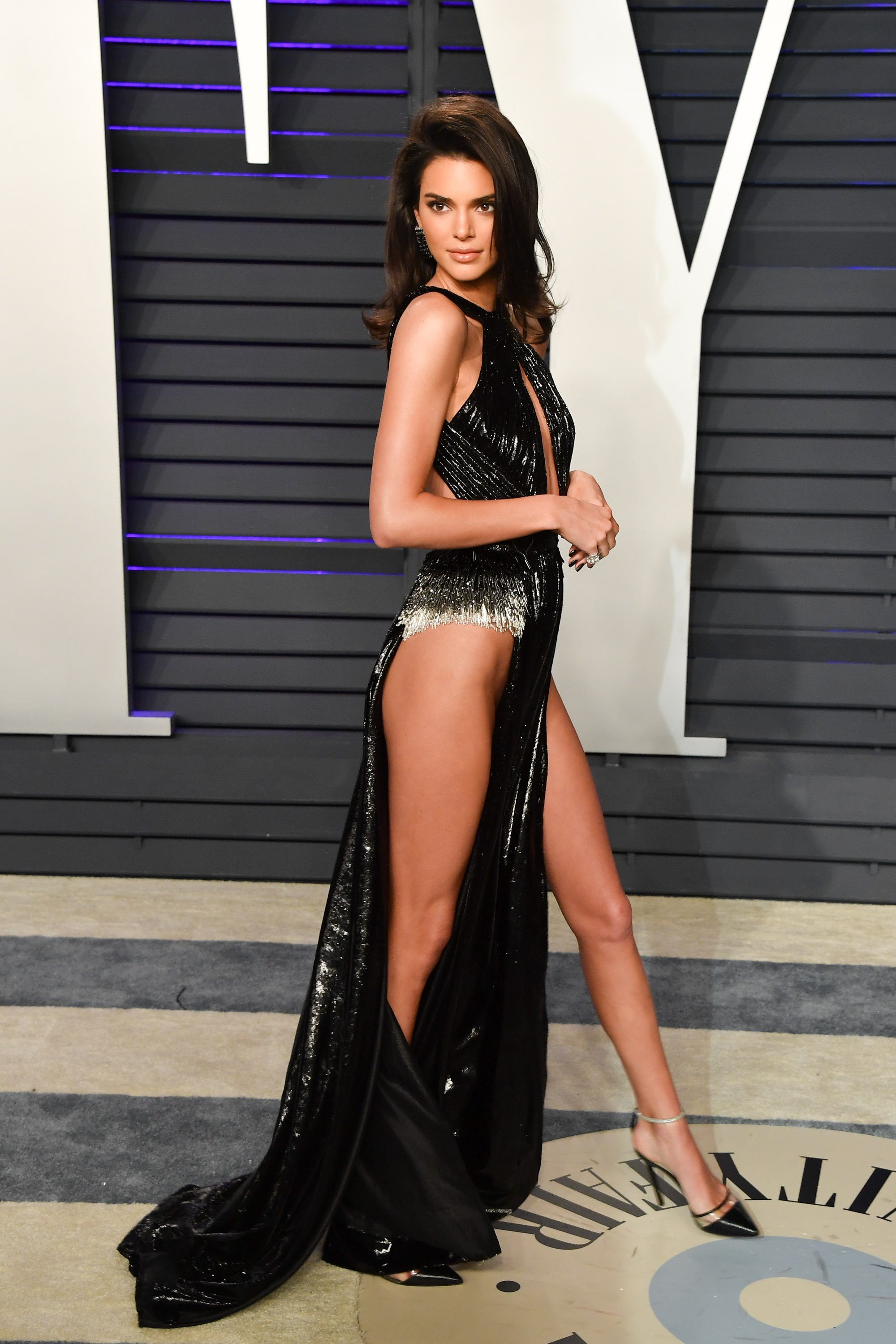 Kendall Jenner at the 2019 Vanity Fair Oscar afterparty | Photo: Getty Images