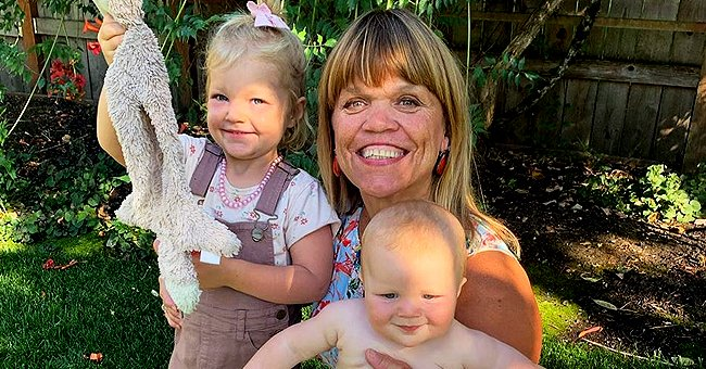 Check Out Amy Roloff's Adorable New Pics with Her Grandchildren Ember and Bode in Their Backyard