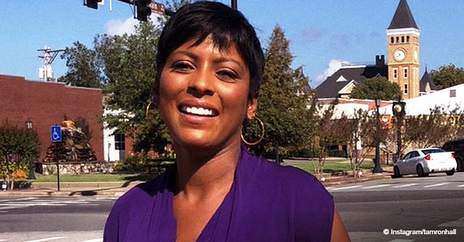 Tamron Hall Poses with Mom & Son, Thanks Her 'Village' in Mother's Day Tribute
