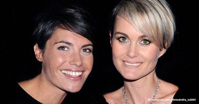 Alessandra Sublet n'a publiquement pas soutenu son amie Laeticia Hallyday sur les questions de patrimoine