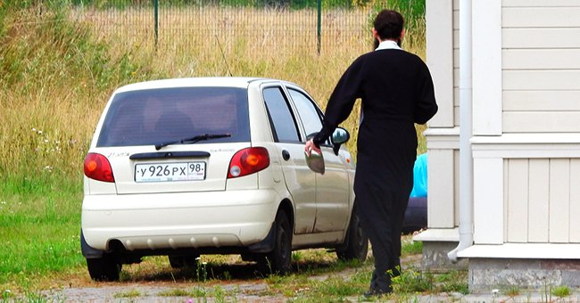 Daily Joke: A Priest Is Driving Home When His Car Broke Down