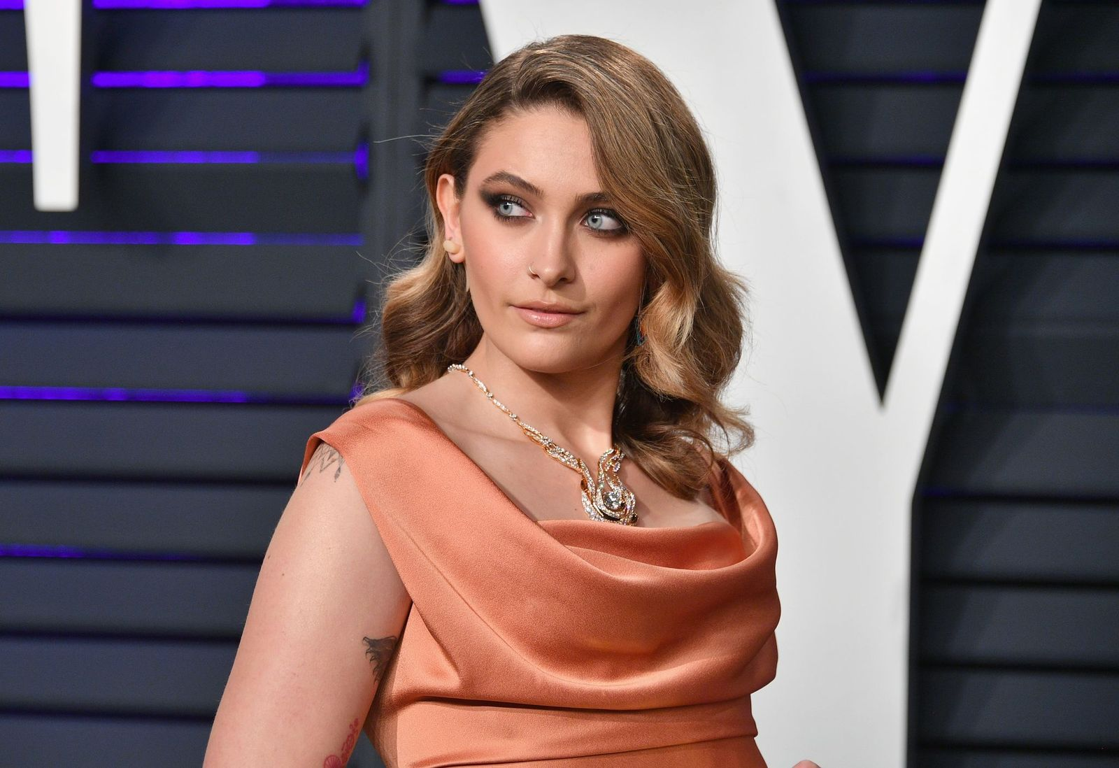 Paris Jackson at the 2019 Vanity Fair Oscar Party hosted by Radhika Jones at Wallis Annenberg Center on February 24, 2019 | Photo: Getty Images