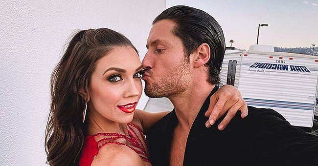 Jenna Johnson Shares Sweet Photo with Val Chmerkovskiy and They Look so in Love