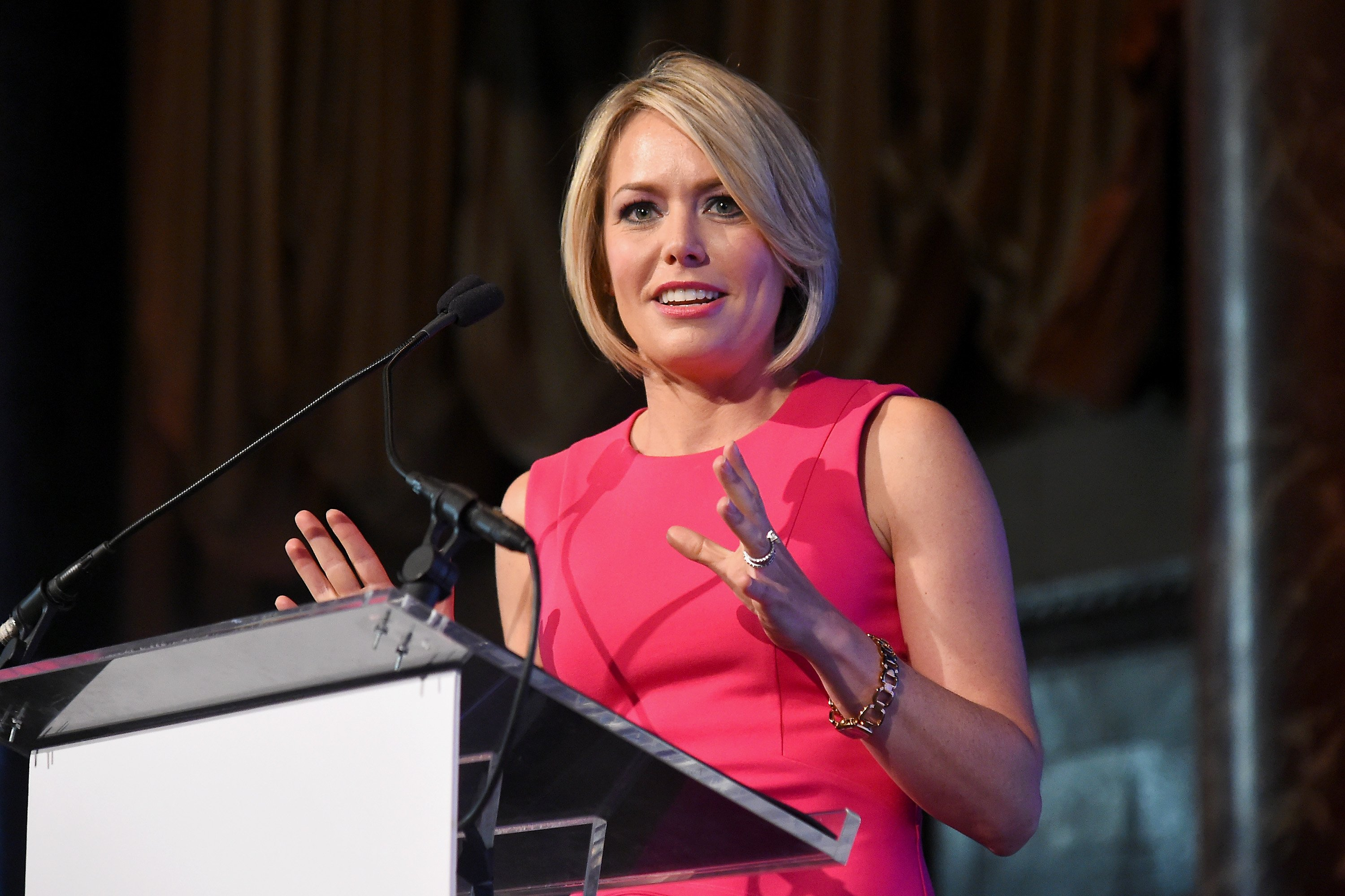 Meteorologist Dylan Dreyer during a 2017 luncheon event in New York City. | Photo: Getty Images