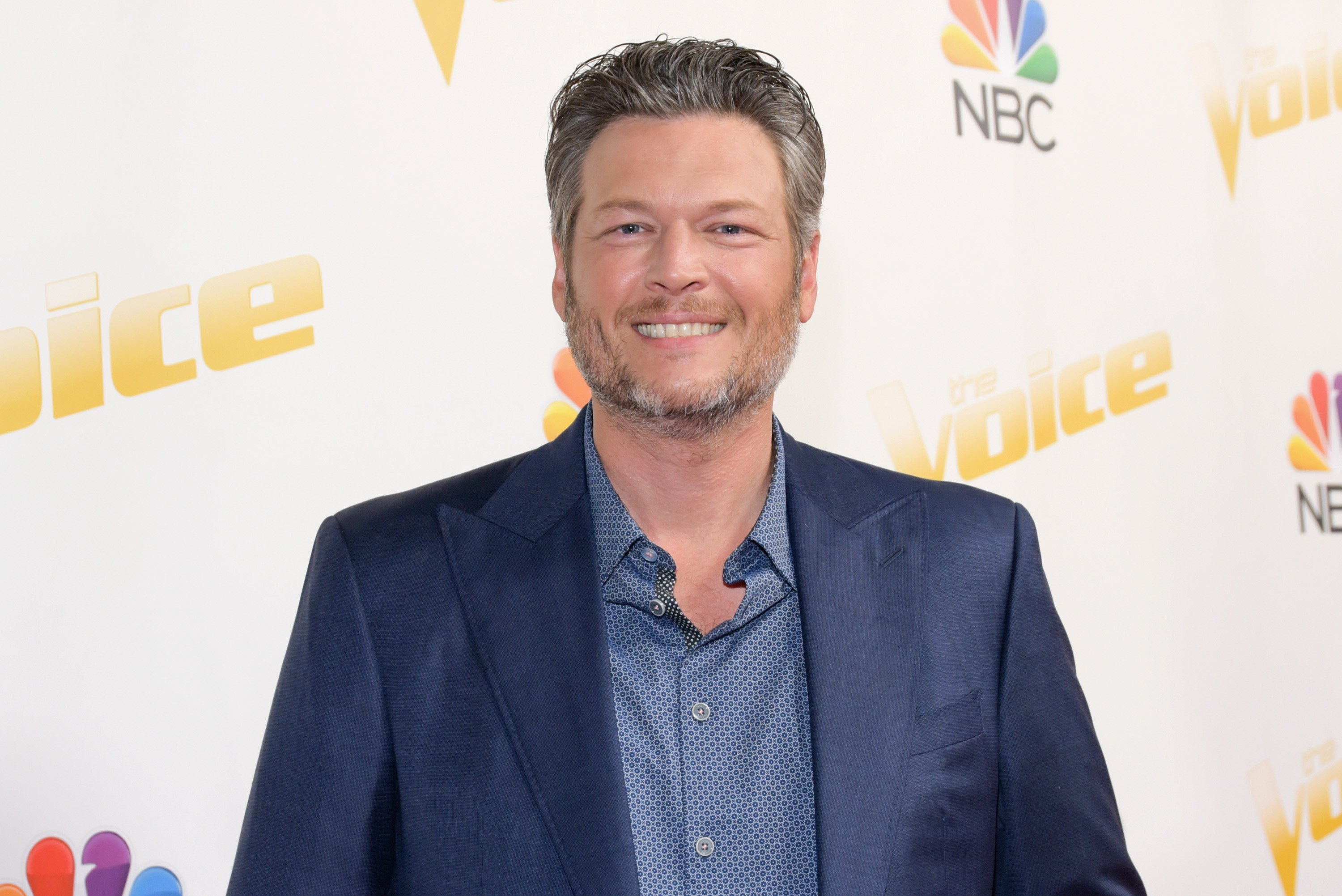 Blake Shelton attends NBC's 'The Voice' Season 14 taping on April 23, 2018, in Universal City, California. | Source: Getty Images.