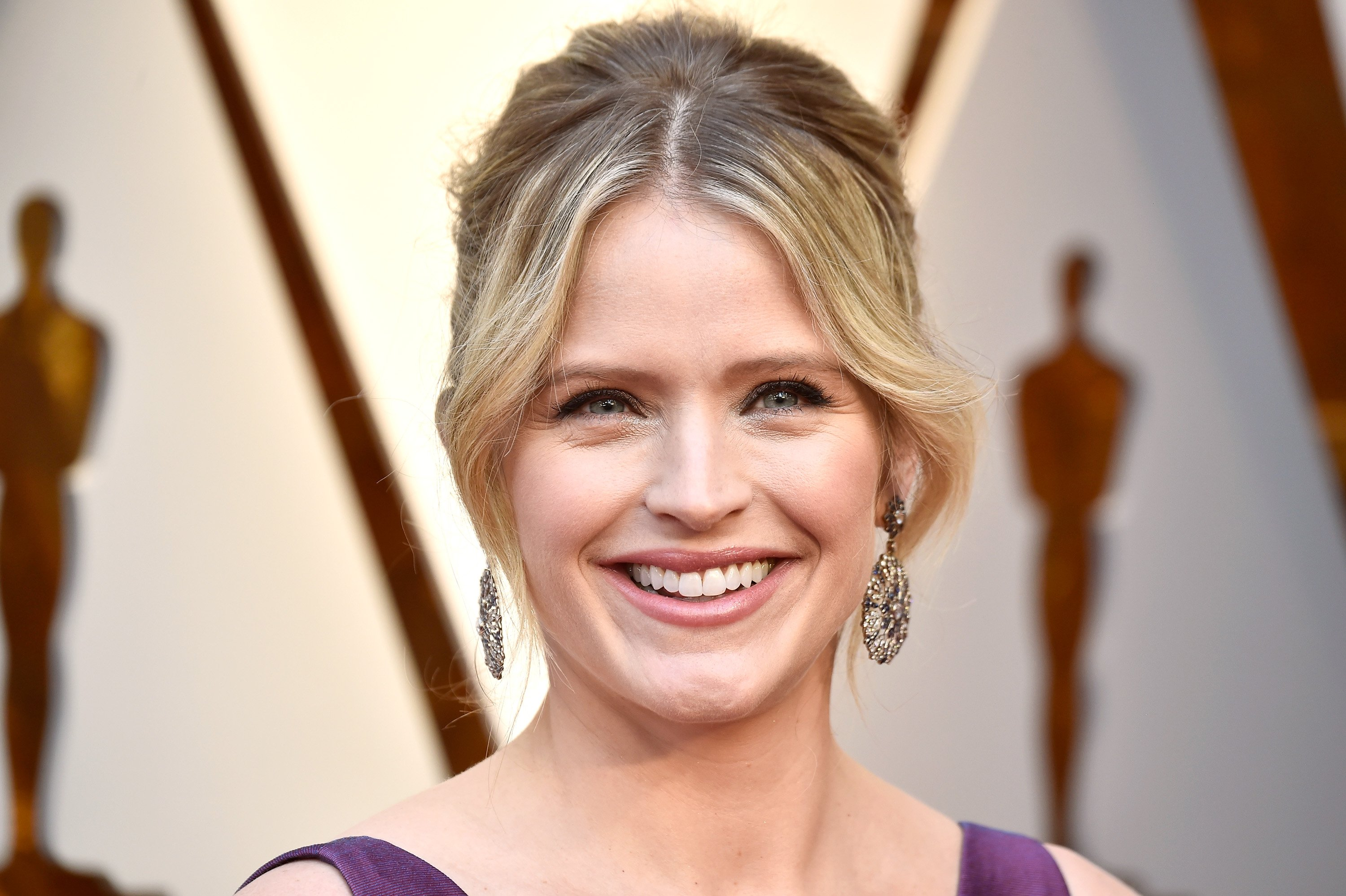 Sara Haines attends the 90th Annual Academy Awards in Hollywood, California on March 4, 2018   Photo: Getty Images