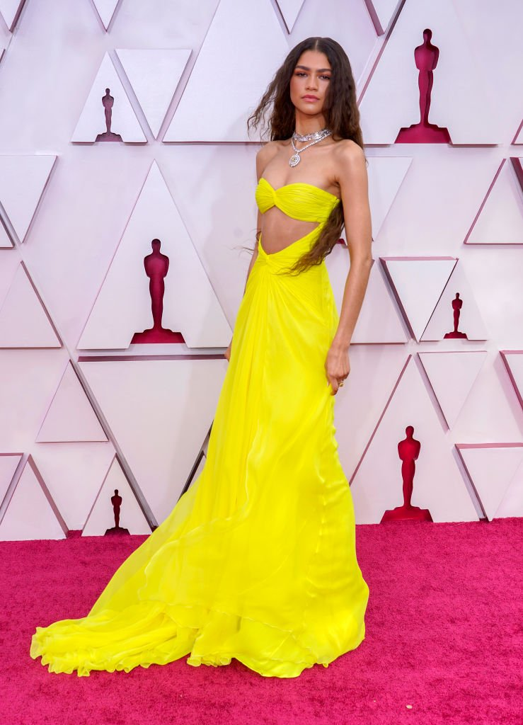 Zendaya assiste à la 93e cérémonie des Oscars à Union Station le 25 avril 2021 à Los Angeles, Californie. | Photo : Getty Images