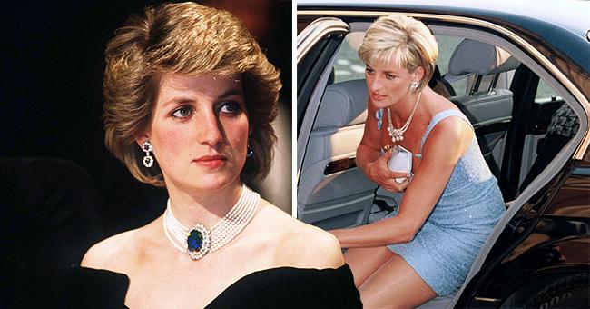 """Les tenues de la princesse Diana : Des """"sacs à décolleté"""" à la fameuse """"robe de vengeance"""""""