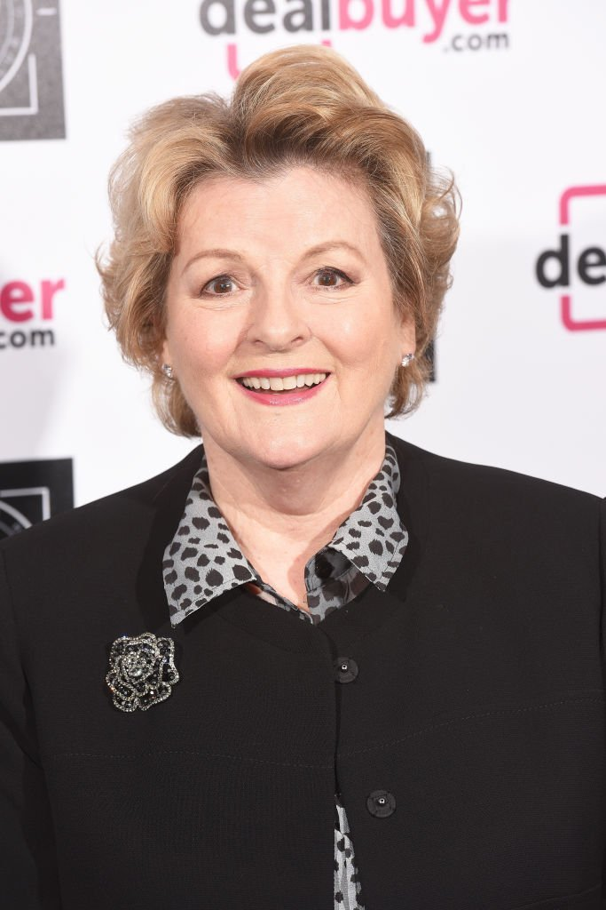 Brenda Blethyn le 14 mars 2017 à Londres. l Source : Getty Images