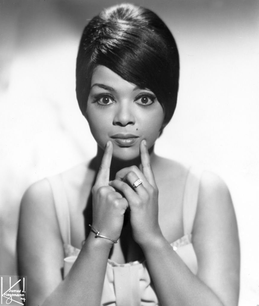 Motown recording star Tammi Terrell poses for a portrait in New York City circa1966. | Photo: GettyImages