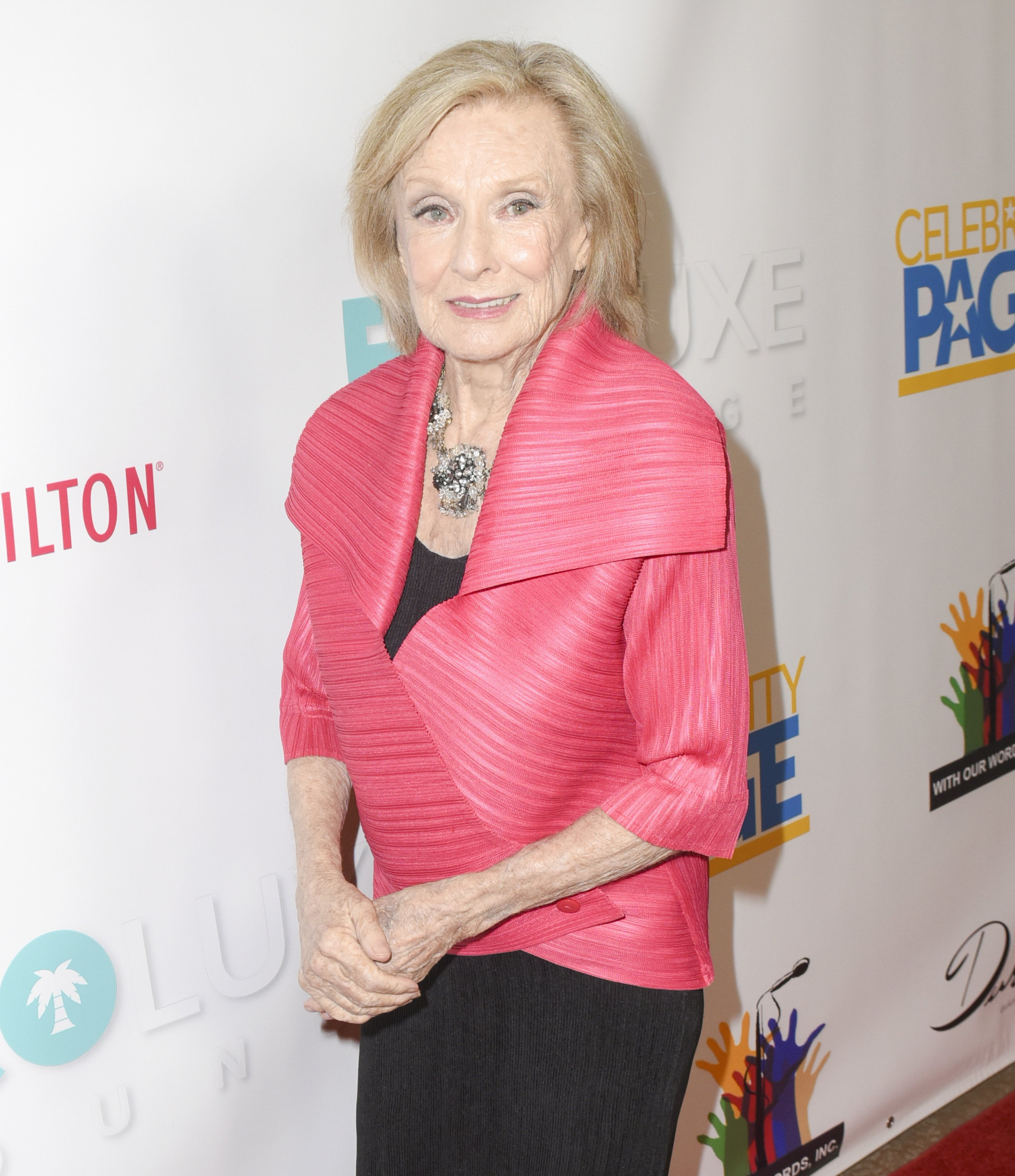 Cloris Leachman at EcoLuxe Pre-Oscars Lounge at The Beverly Hilton Hotel on March 2, 2018 in Beverly Hills, California | Photo: Getty Images