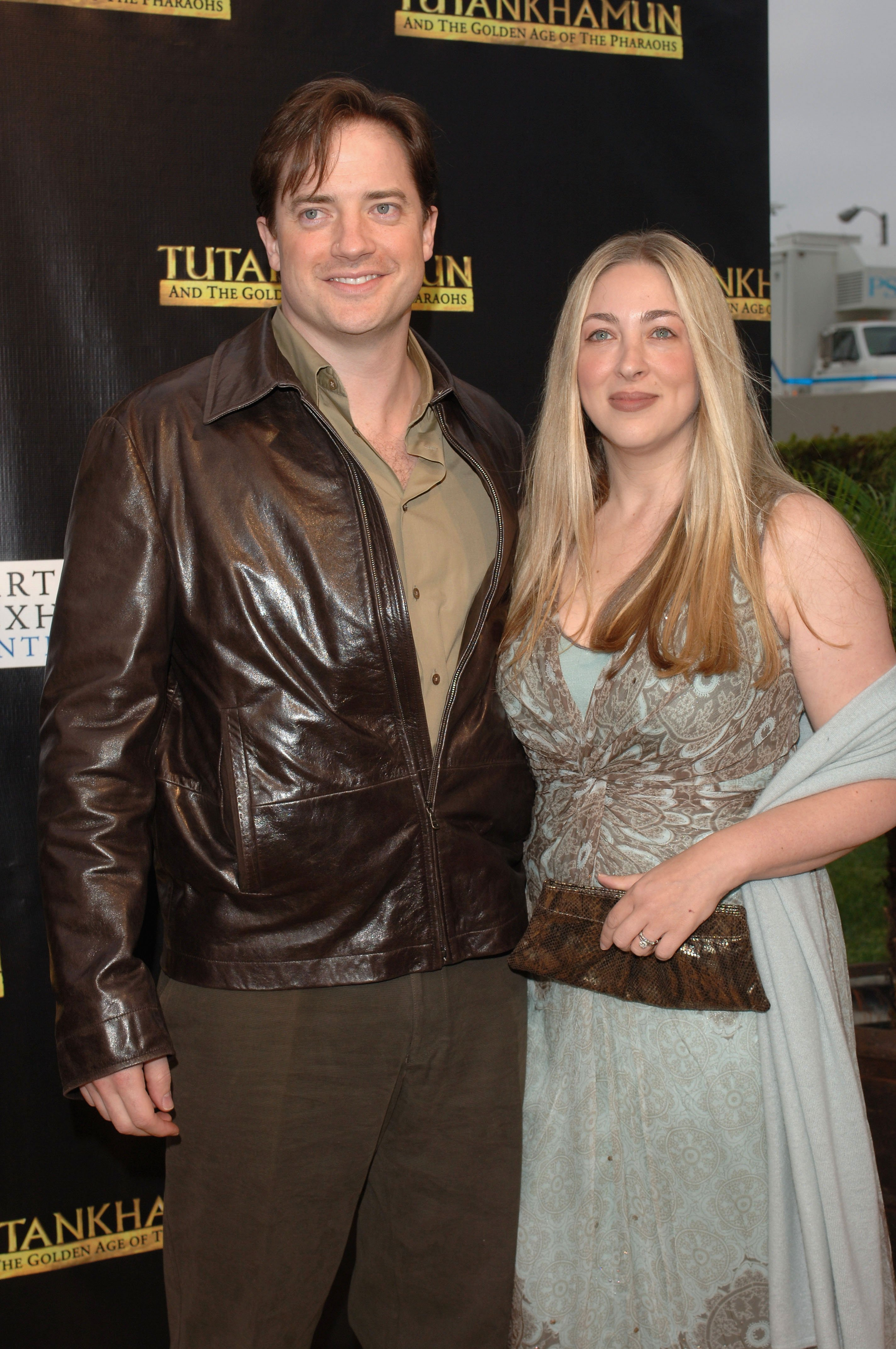 Brendan Fraser and Afton Smith on June 15, 2005 in Los Angeles, California | Source: Getty Images