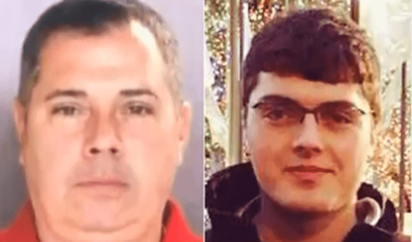 Michael Trujillo Snr., Dad who allegedly stole his son's Identity and amassed $120k in Debt and his son | Photo: YouTube/  Prena Sheth.