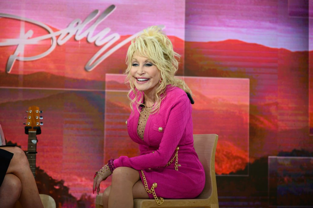 """Dolly Parton on Season 68 of """"Today"""" show on November 20, 2019   Photo: Getty Images"""