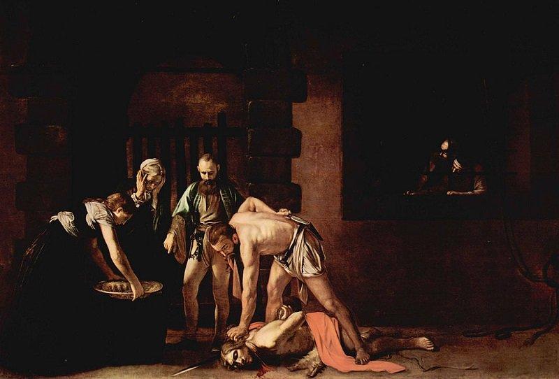 Un guardia se encargó de entregarle la cabeza a Salomé como la había pedido.  Fuente: Flickr