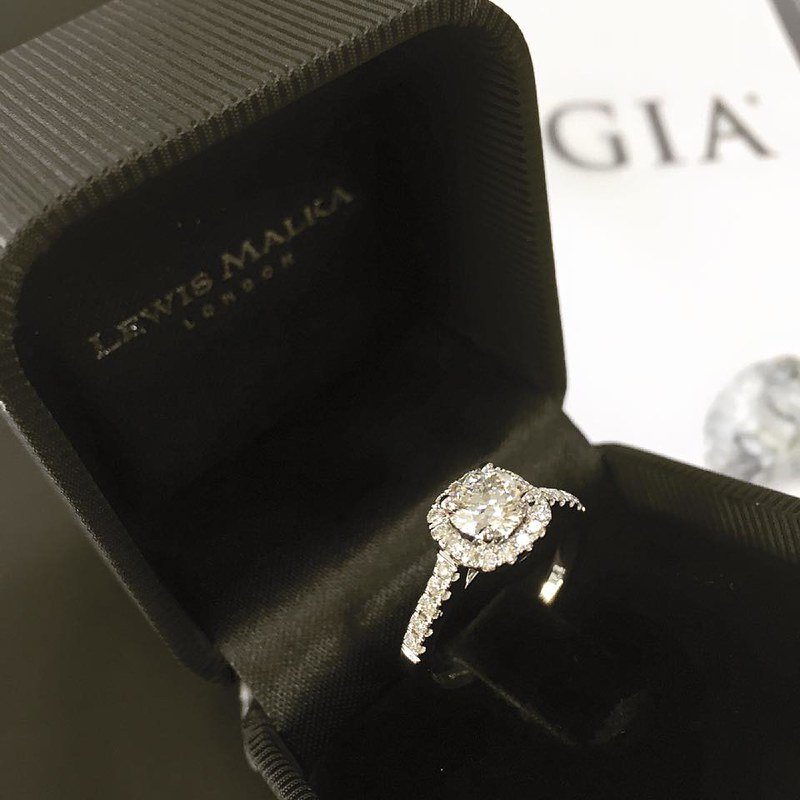 An engagement ring in its case.   Photo: Flickr