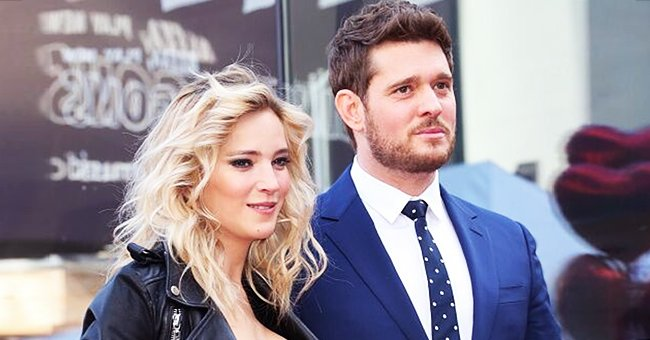 Michael Bublé's Wife Luisana Reveals He Received Death Threats after the Viral Elbowing Video