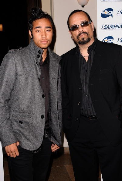 Ice-T and son Lil Ice attend the 2009 Voice Awards on October 14, 2009 | Photo: Getty Images