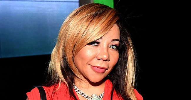 Tiny Harris Shares Cute Photos of Her Daughter Heiress Posing in a Denim Outfit & White Sneakers