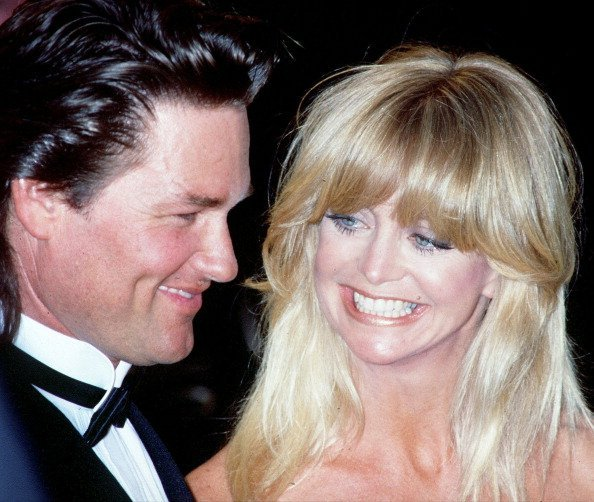 Goldie Hawn and Kurt Russell circa 1991. | Source: Getty Images.