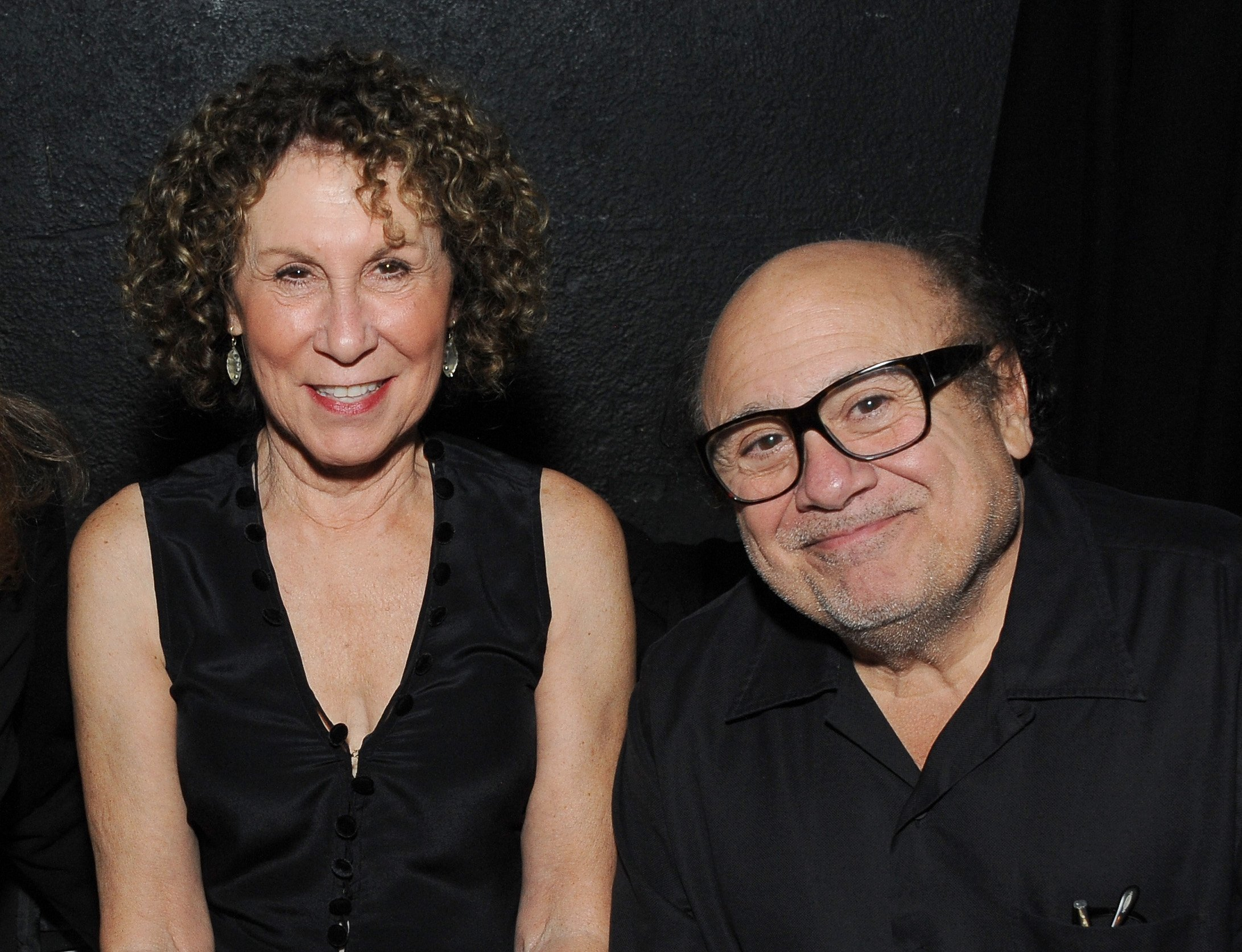 Actors Rhea Perlman (L) and Danny DeVito attend the International Myeloma Foundations 8th Annual Comedy Celebration | Source: Getty Images