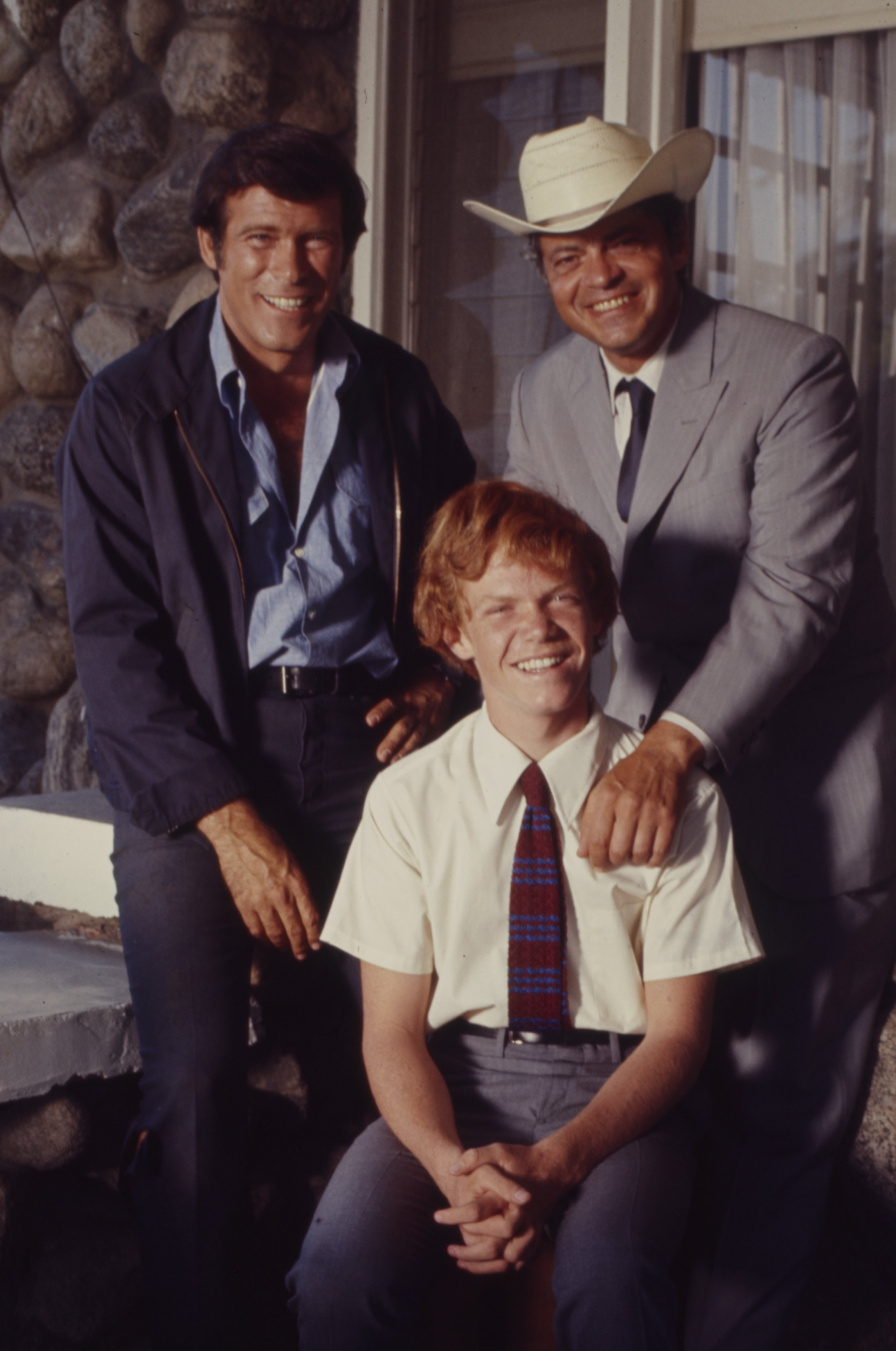 Christopher George, Ross Martin, Mitch Vogel appearing in the Walt Disney Television series 'The Immortal'   Photo: Getty Images