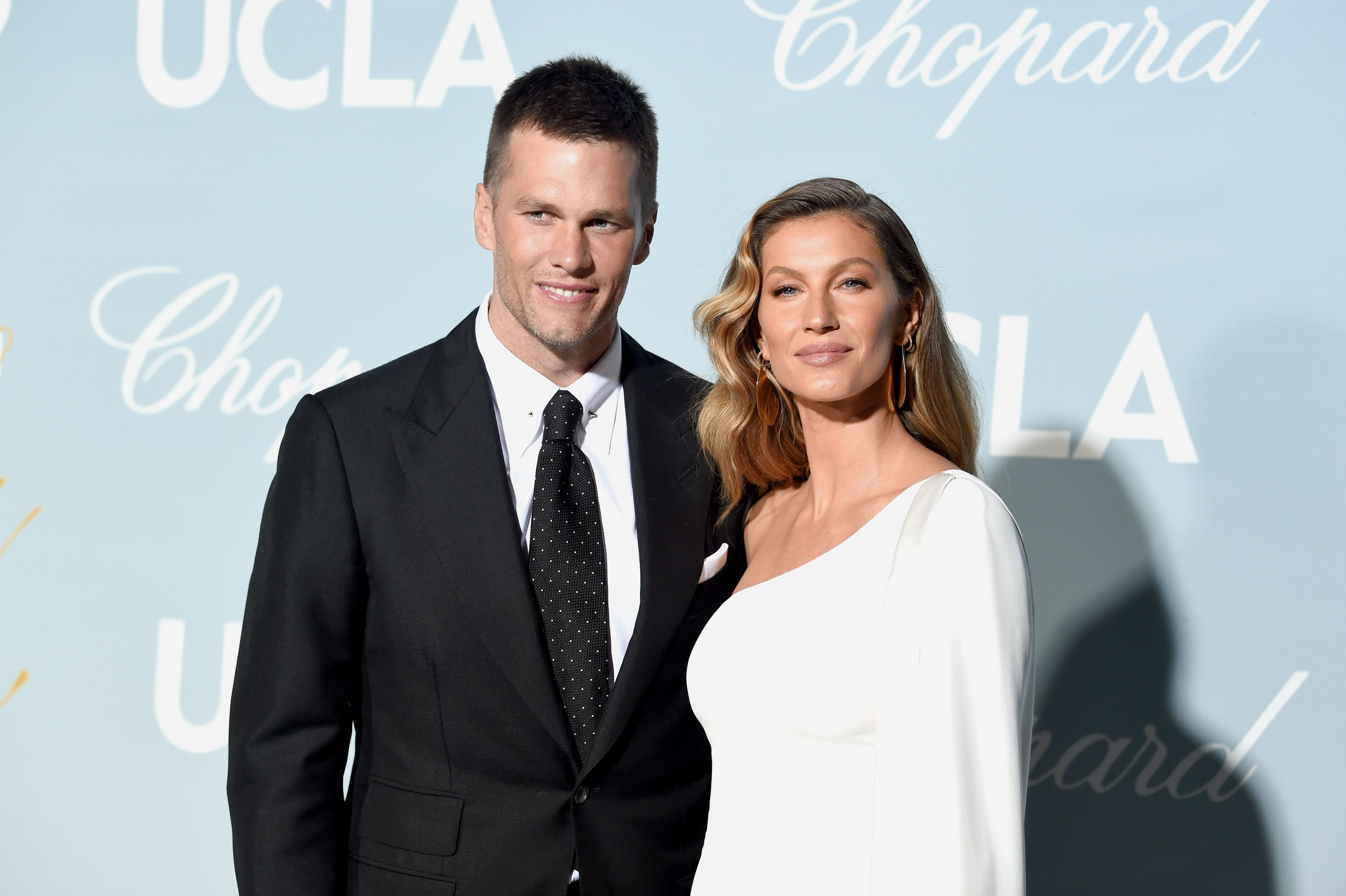 Tom Brady and Gisele Bündchen at the 2019 Hollywood For Science Gala at Private Residence on February 21, 2019 in Los Angeles, California | Photo: Getty Images