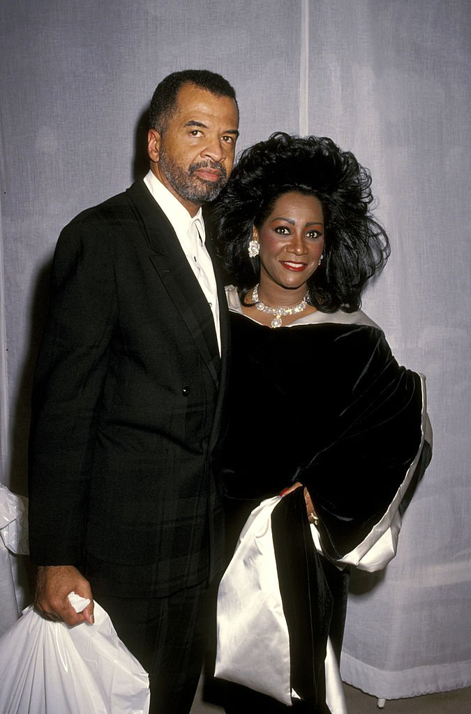 """Patti LaBelle and Armstead Edwards during """"7th On Sale"""" To Benefit AIDS Research - November 29, 1990 at 69th Regiment Armory in New York City, New York   Photo: Getty Images"""
