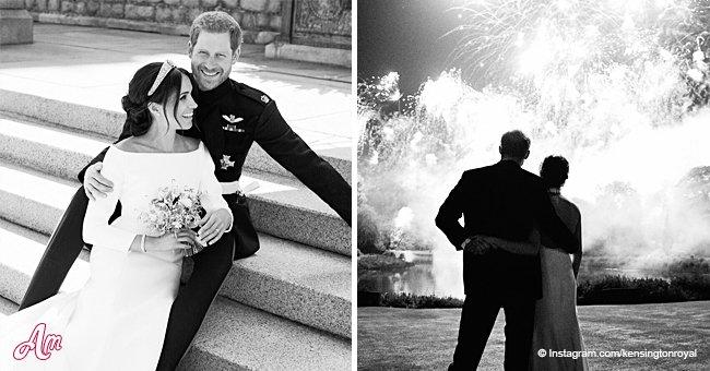 Une photo inédite de la réception de mariage de Meghan Markle vient d'être partagée en ligne