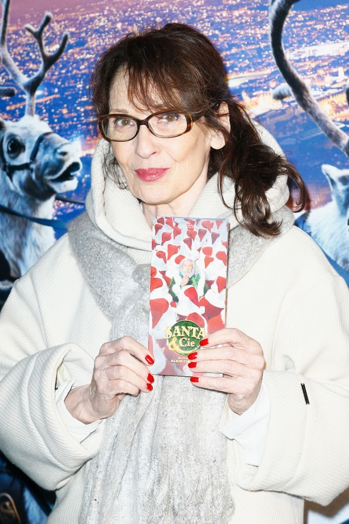 "Chantal Lauby assiste à la première parisienne de ""Santa & Cie"" au Cinéma Pathe Beaugrenelle le 3 décembre 2017 à Paris, France. 