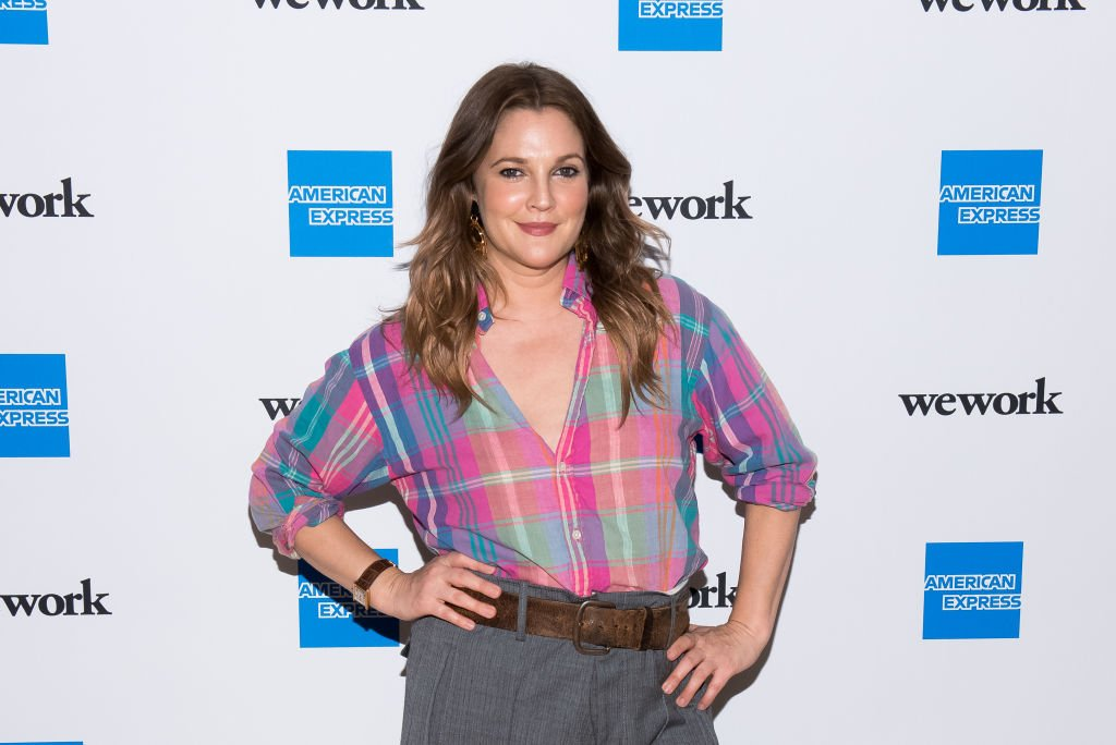 """Drew Barrymore at the """"For the Love of Collaboration"""" in New York City on May 15, 2019. 