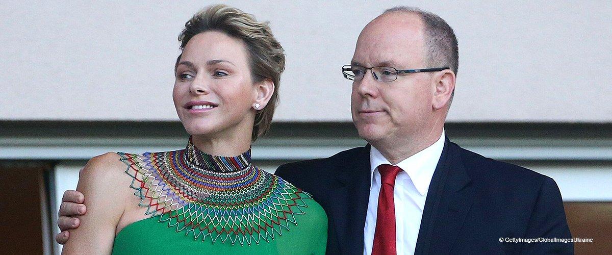 Charlène de Monaco a partagé une adorable photo de ses enfants célébrant l'anniversaire du Prince Albert