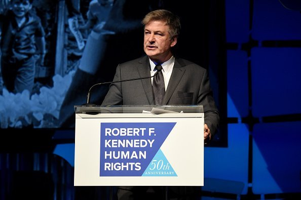 Alec Baldwin speaks onstage during the 2019 Robert F. Kennedy Human Rights Ripple Of Hope Awards on December 12, 2018 in New York City | Photo: Getty Images