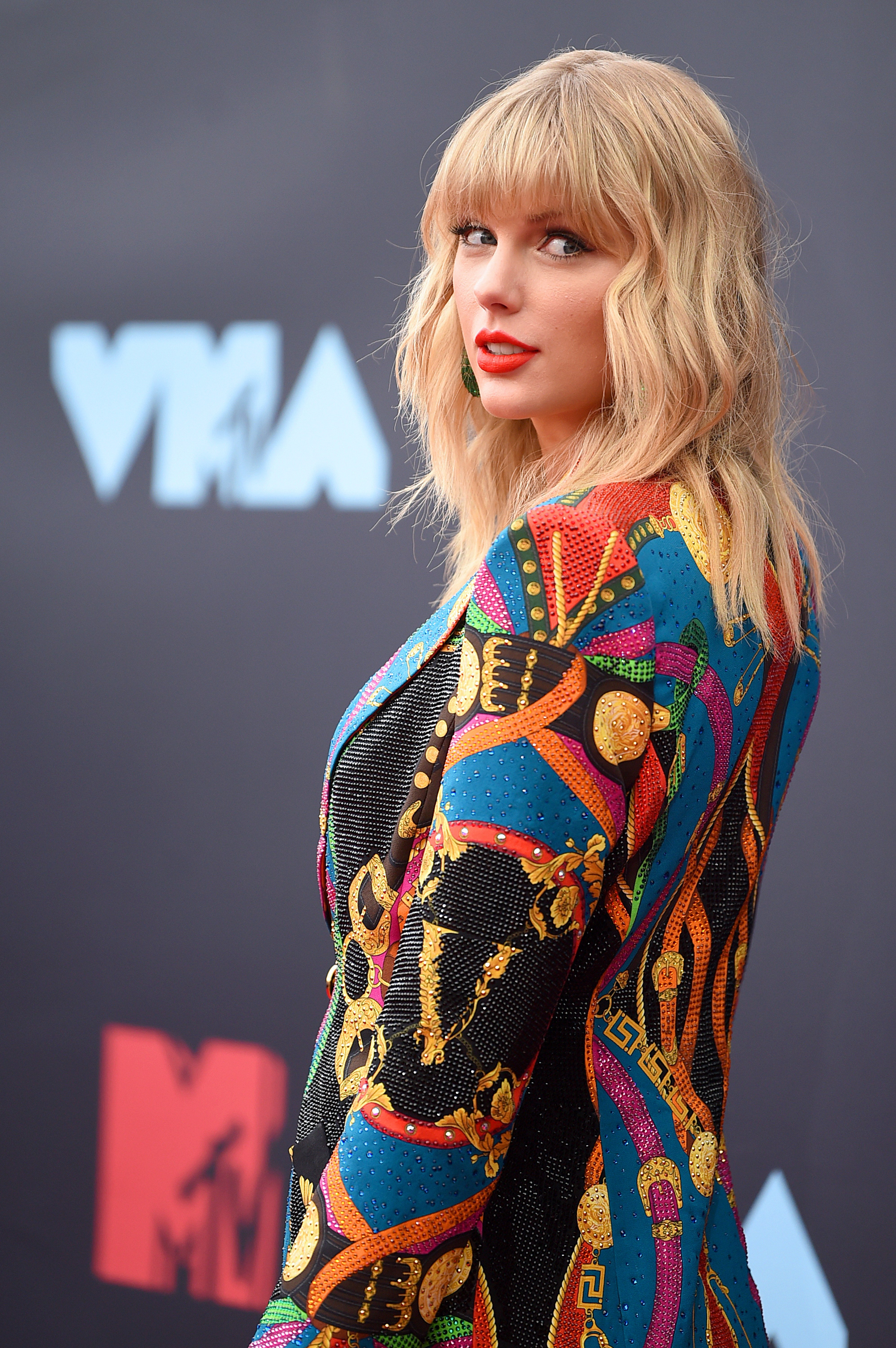 Taylor Swift during the 2019 MTV Music Awards. | Source: Getty Images