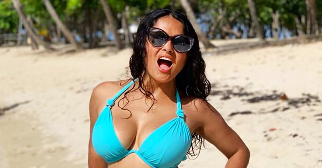 'From Dusk till Dawn' Actress Salma Hayek Marks Upcoming 53rd Birthday with Sultry Beach Photo