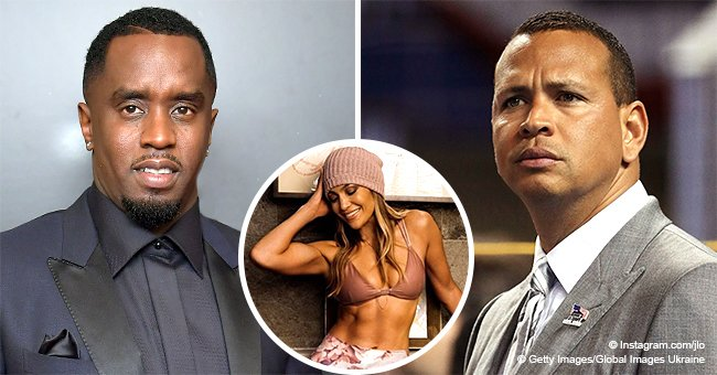 Alex Rodriguez responds to Diddy after he leaves thirsty comment on J. Lo's latest revealing pic